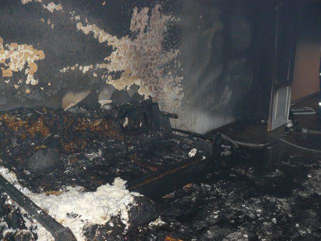 Požár bytu Tachov