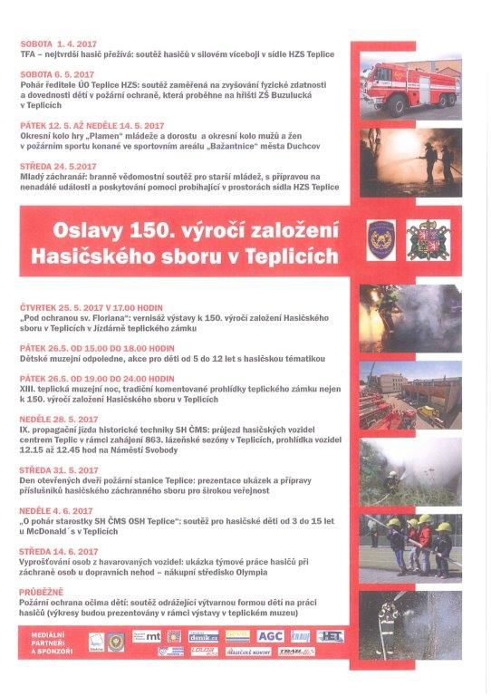 Hzs Usteckeho Kraje Oslavy 150 Vyroci Zalozeni Hasicskeho Sboru V